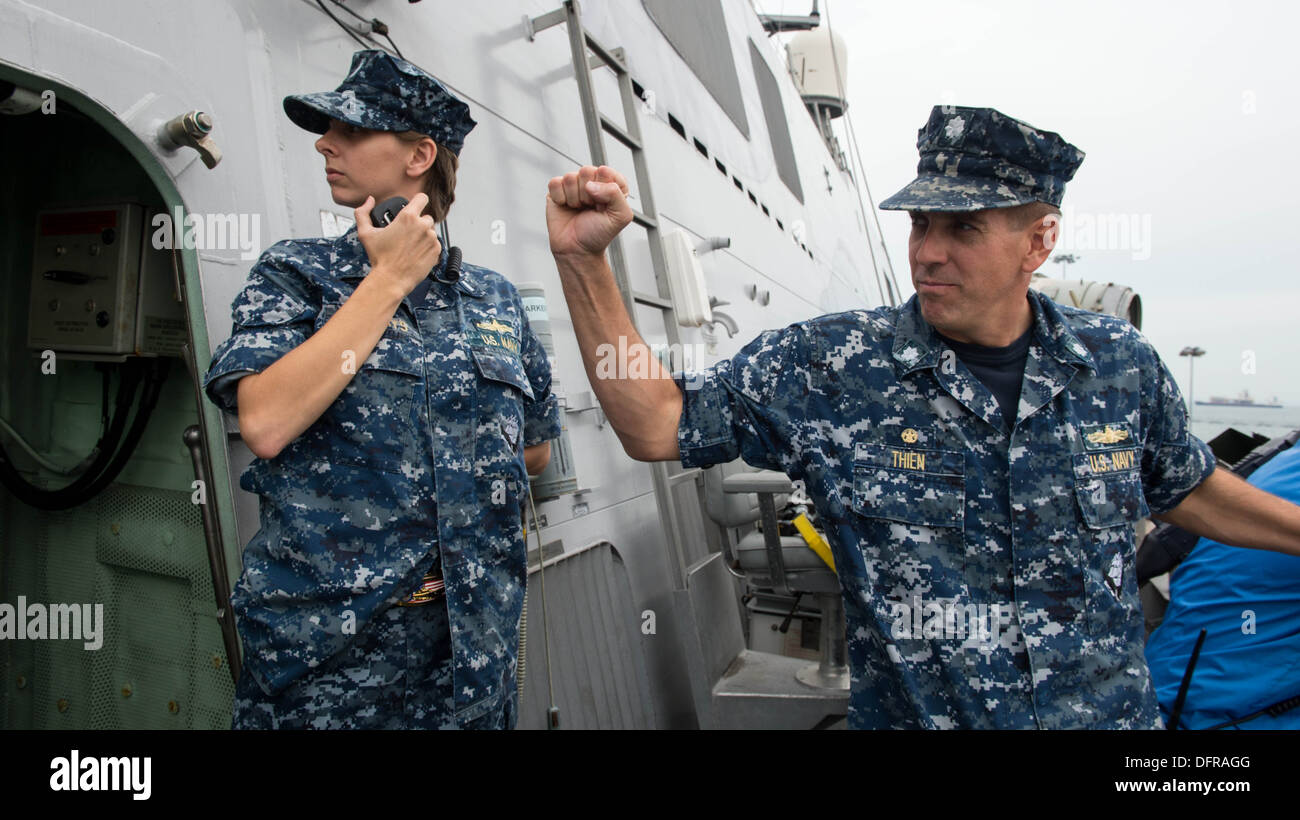 Littoral Combat ship USS Freedom (LCS-1) Kommandierender Offizier ...