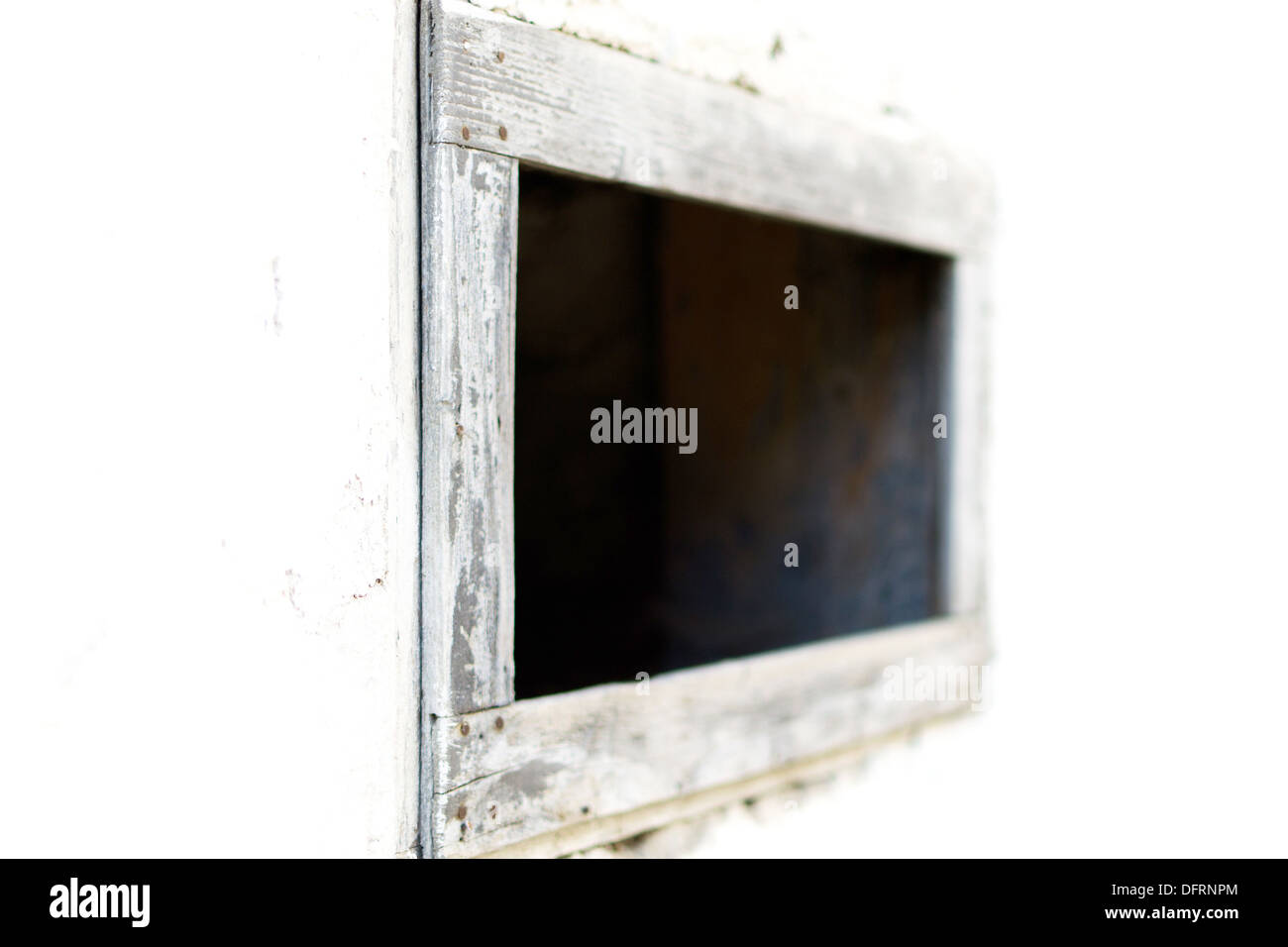 Fenster - minimalistischen Ansatz Stockfoto