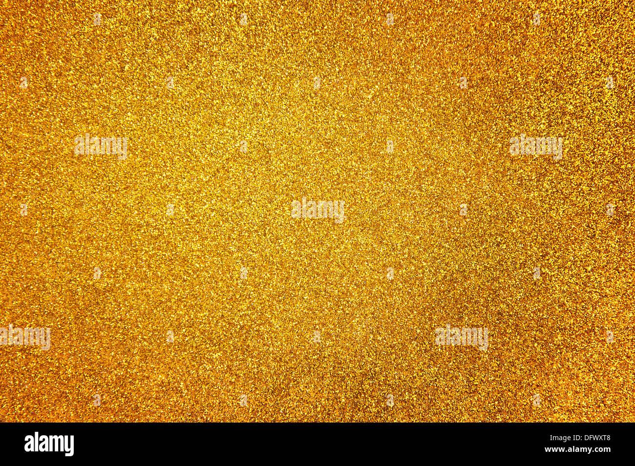 Abstrakte goldenen Glitzer Hintergrund Stockbild