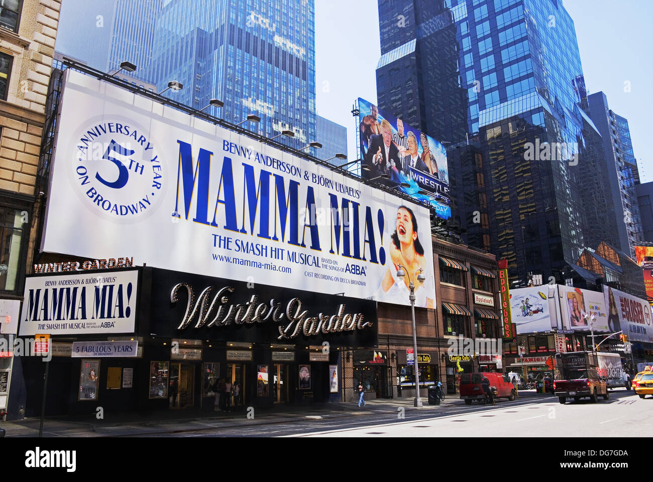 Winter Garden Theater Broadway Times Square Manhattan New York