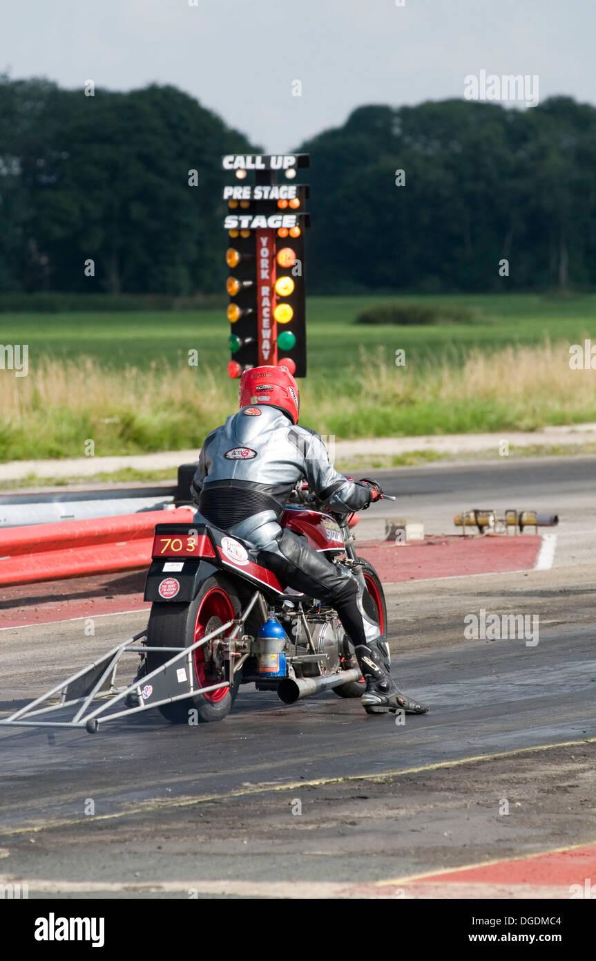Drag Racing Motorrad Motorrader Zyklen Sport Fahrrader