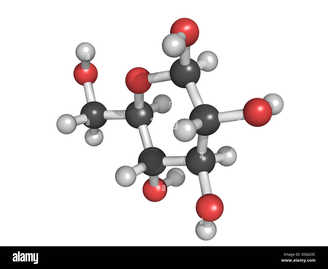 Glukose Beta D Glucose Traubenzucker Dextrose Molekül