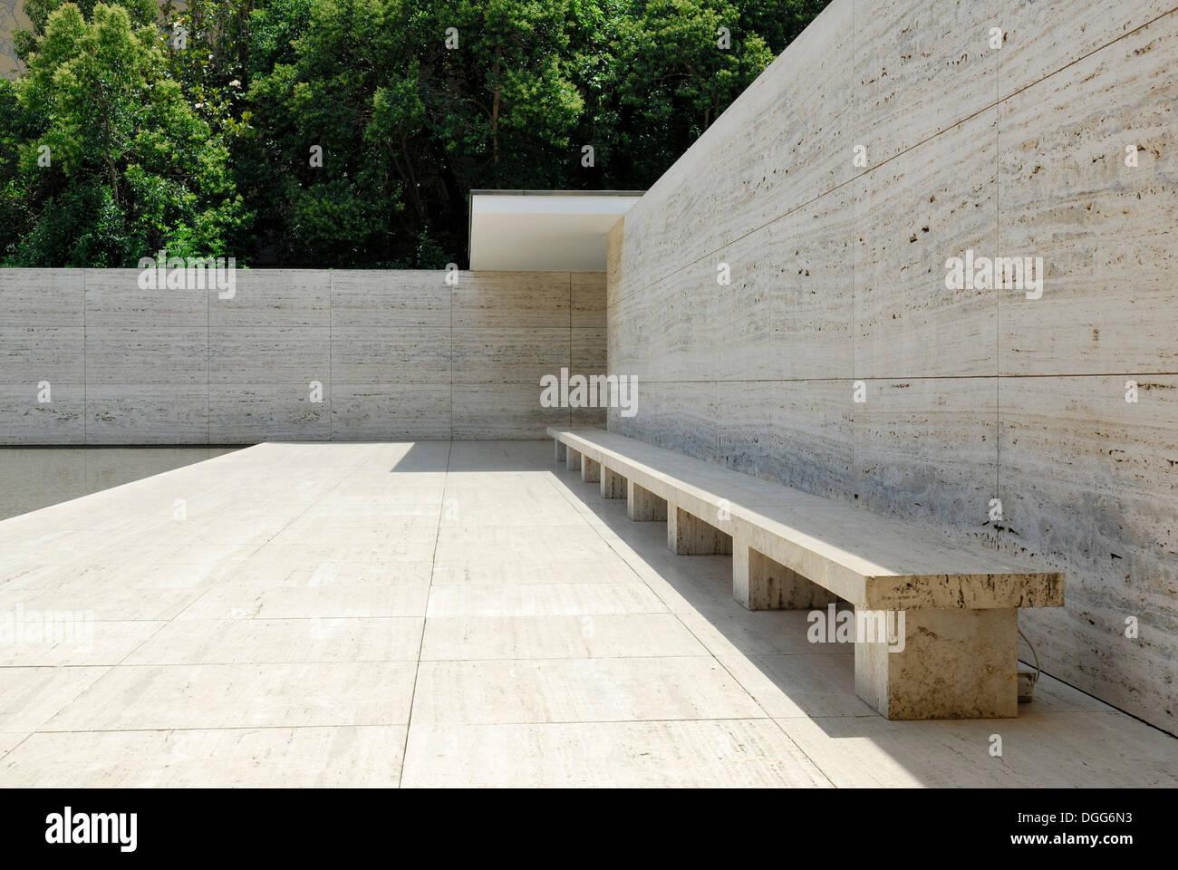 Barcelona Pavillon Rekonstruiert Deutschen Pavillon Für Die