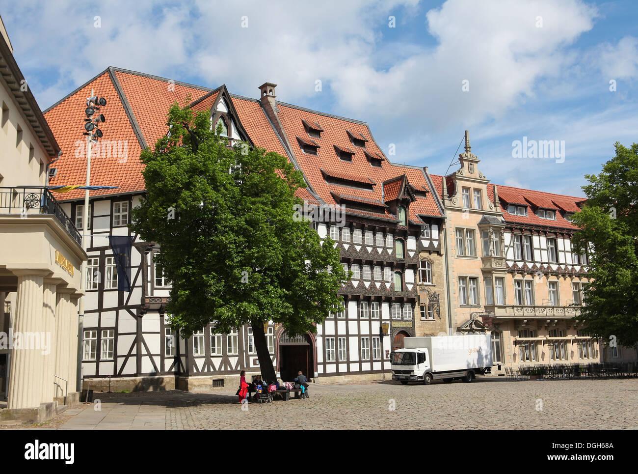 Magniviertel in Braunschweig, Niedersachsen, Deutschland Stockbild