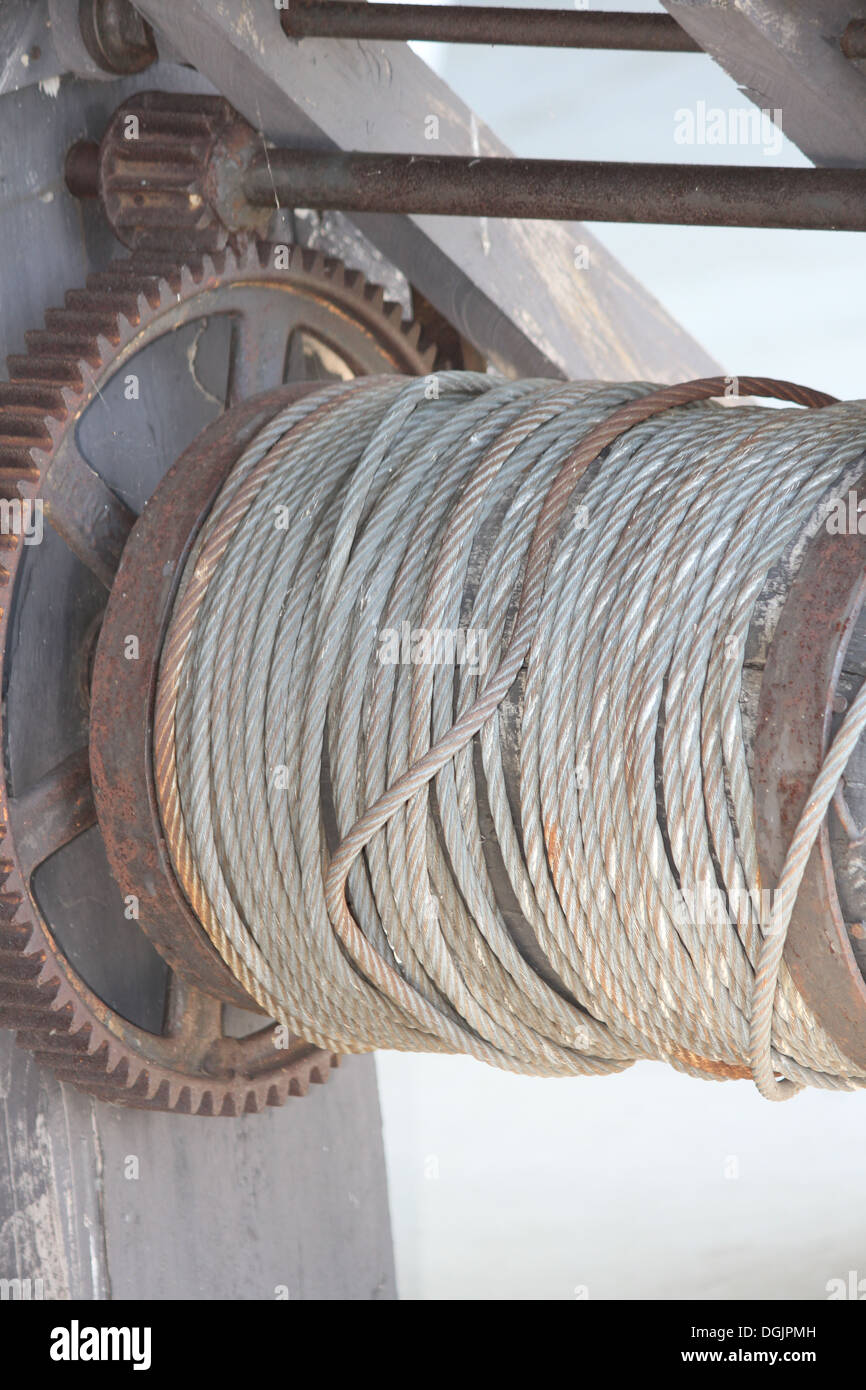 Reel Of Cable Stockfotos & Reel Of Cable Bilder - Alamy