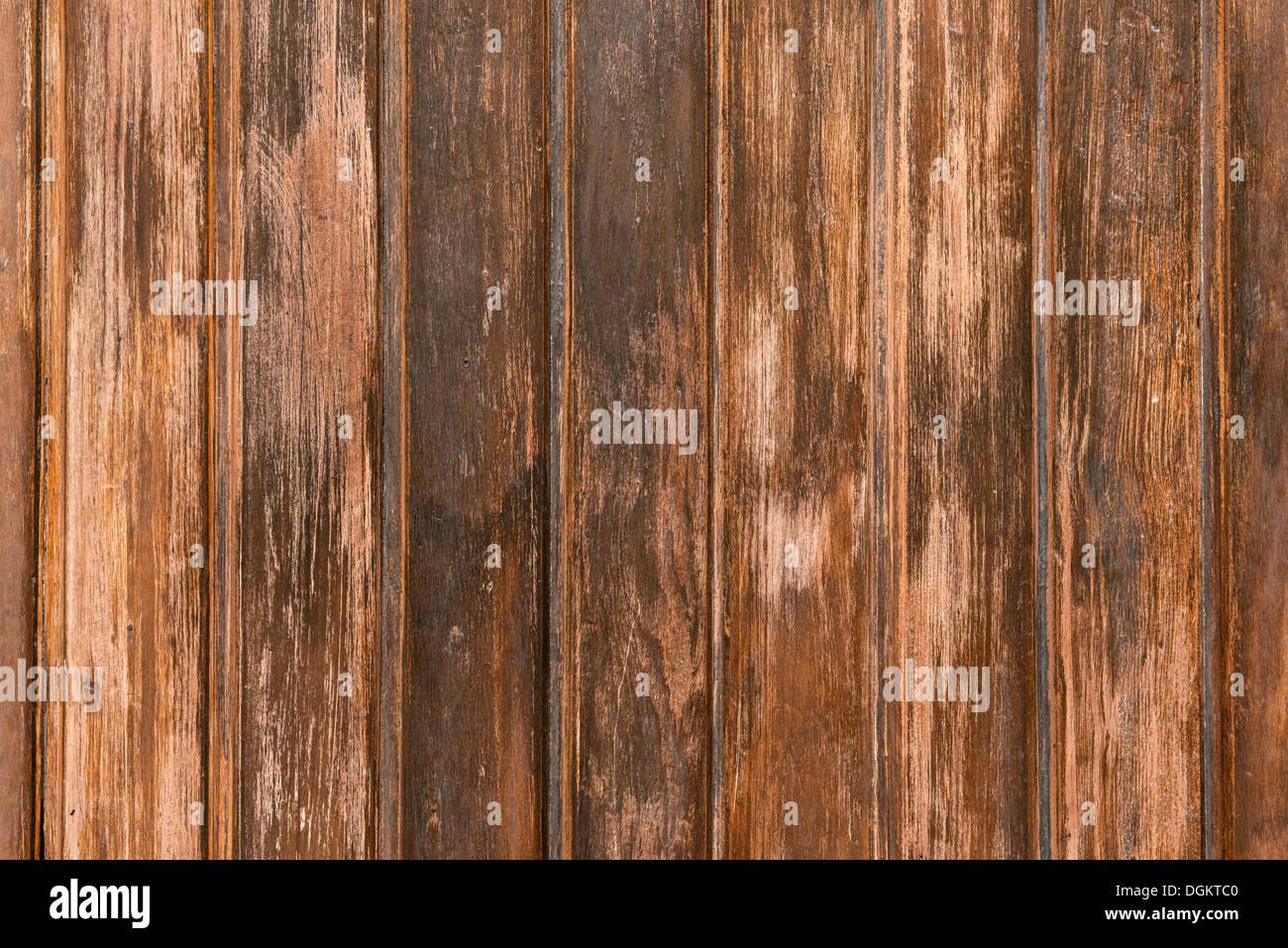 Verwitterter Holzwand Stockbild