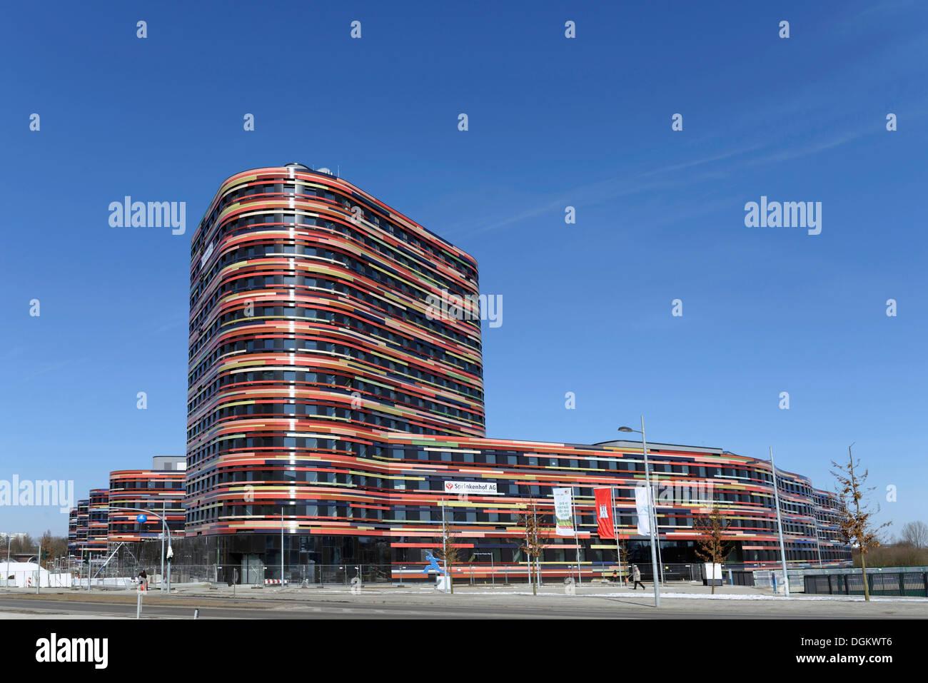 BSU Gebäude, Sprinkenhof AG, Verwaltungsgebäude, Neuenfelder Straße, Hamburg, Hamburg, Hamburg, Deutschland Stockbild