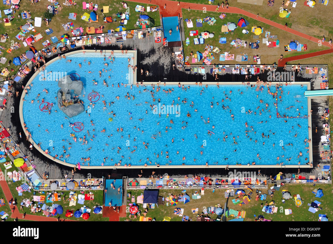 Geesthacht Schwimmbad germany pool outside stockfotos germany pool outside bilder alamy