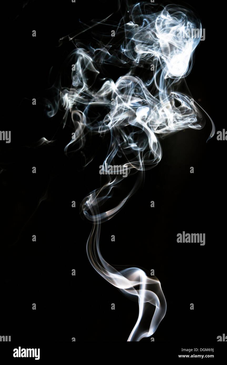 weißer Rauch Stockbild