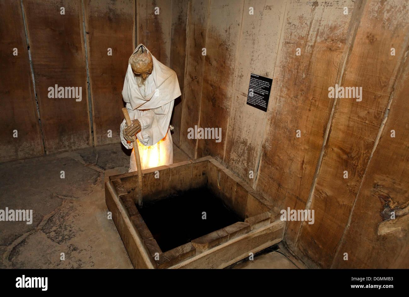 e623873ce8e Abbildung der saline Arbeiter in ein weißes Gewand