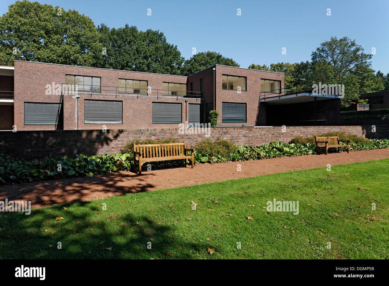 Haus Lange Museum Eine Villa Entworfen Von Mies Van Der Rohe
