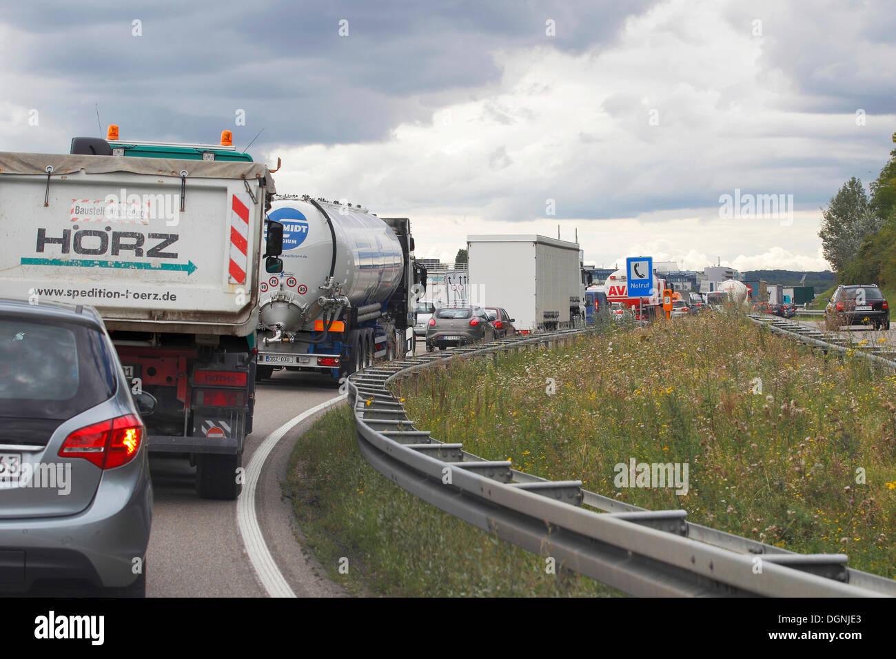 A8 München Stuttgart Stau