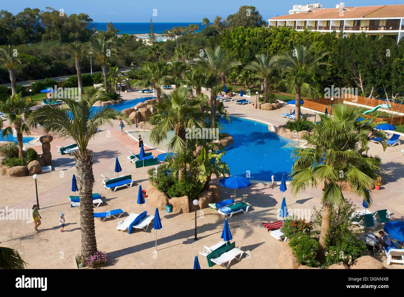 Pool Von Der Nissiana Hotel Nissi Beach In Ayia Napa Sud Zypern