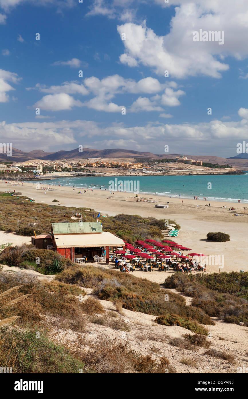 Beach, Costa Calma, Fuerteventura, Kanarische Inseln, Spanien Stockbild