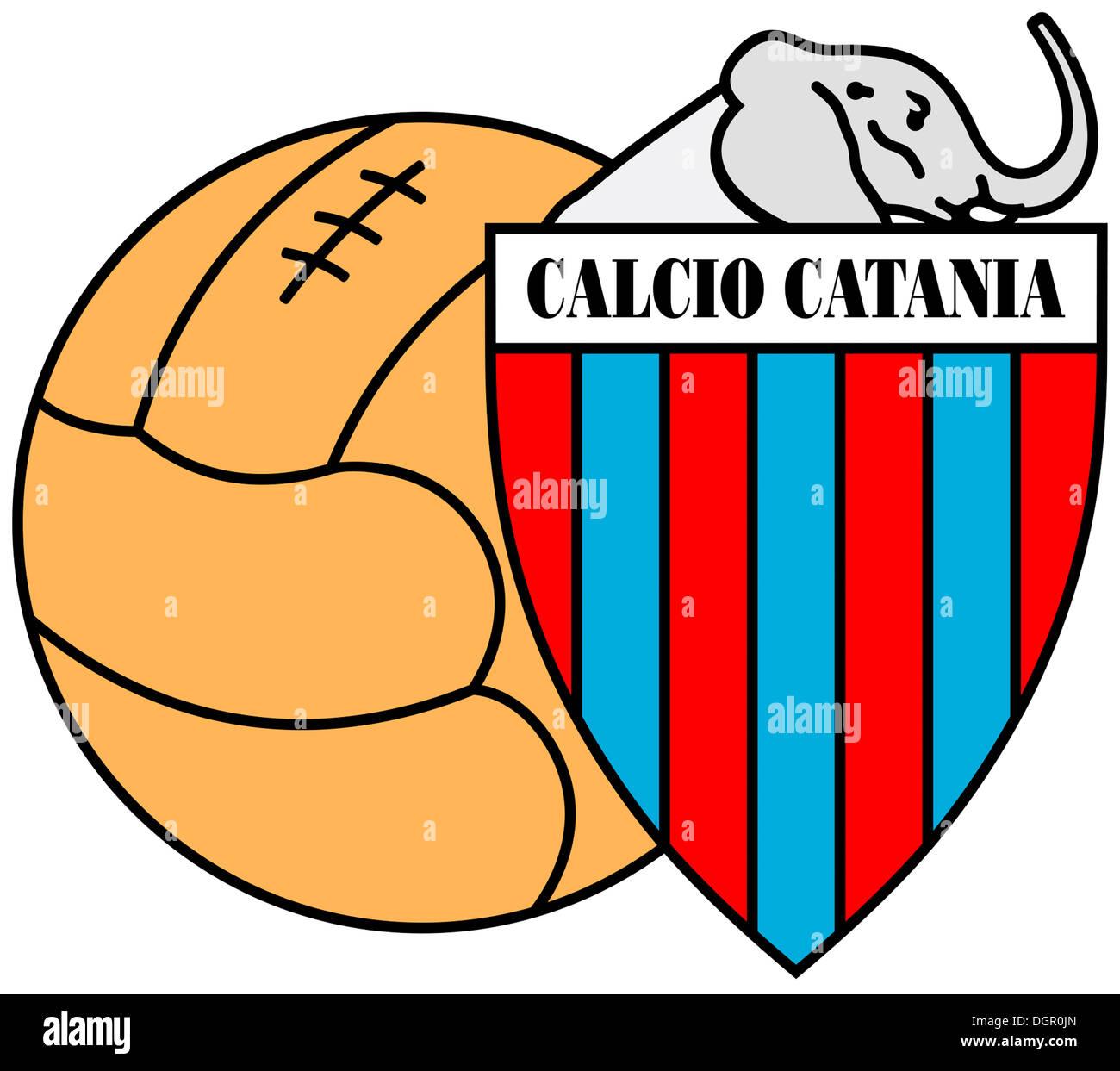 Logo Der Italienischen Fussball Nationalmannschaft Calcio