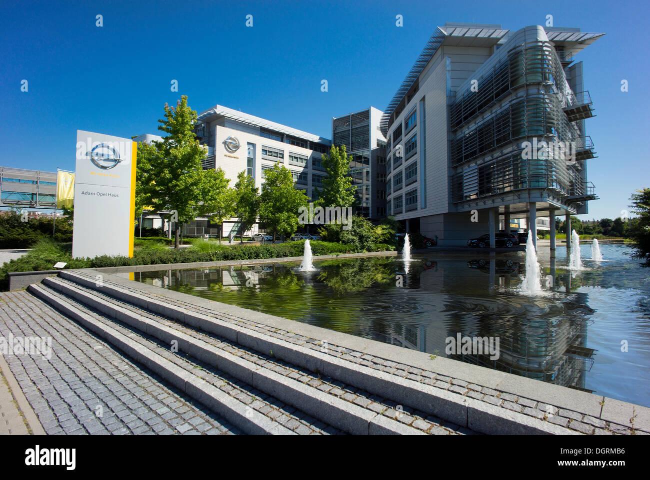 opel building ruesselsheim stockfotos & opel building ruesselsheim