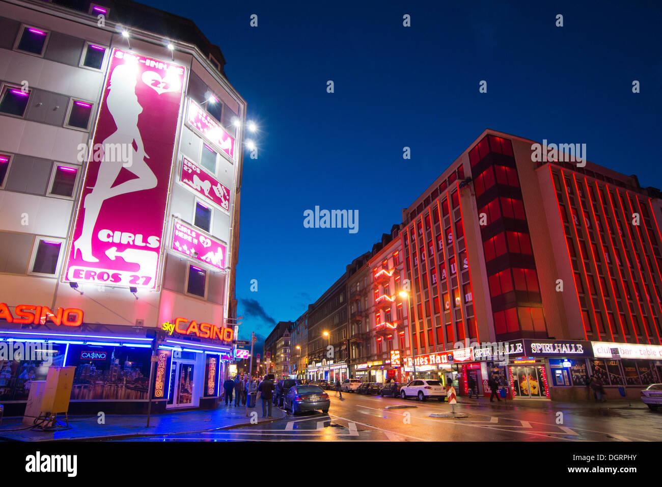 Rotlichtviertel, Bahnhofsviertel, Frankfurt Am Main