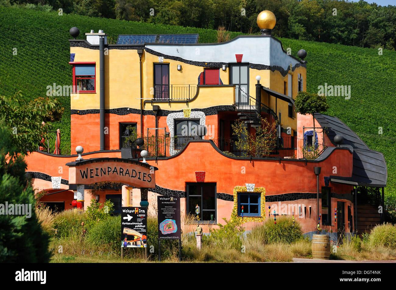 Weingut Hirn Weingut Erbaut Von Dem Kunstler Friedensreich