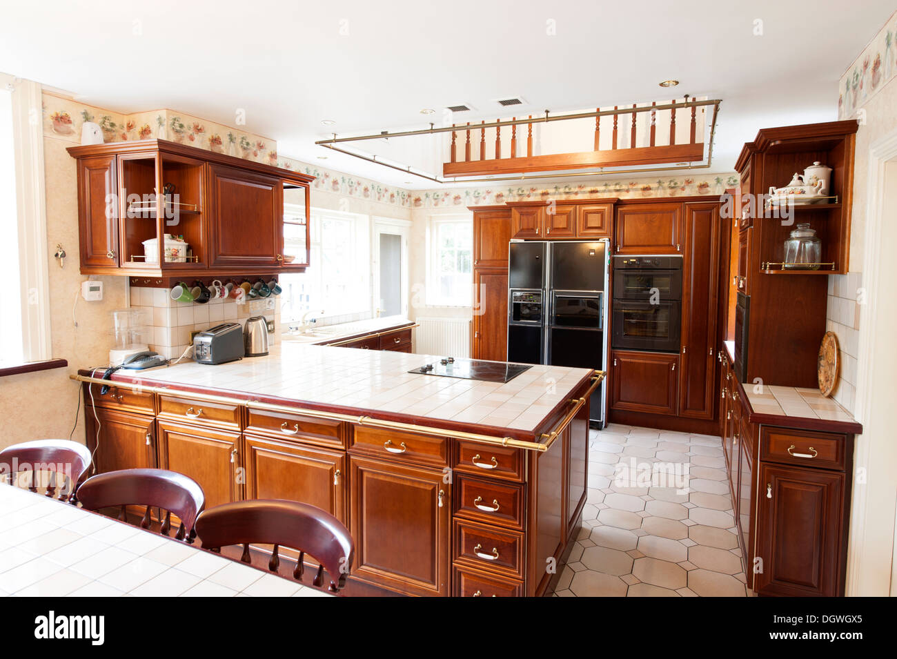 Country Style Kitchen Stockfotos & Country Style Kitchen Bilder - Alamy