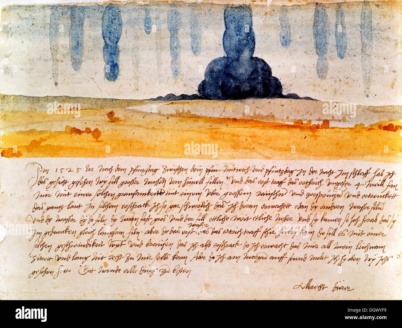 Traumgesichts von Albrecht Dürer Stockbild