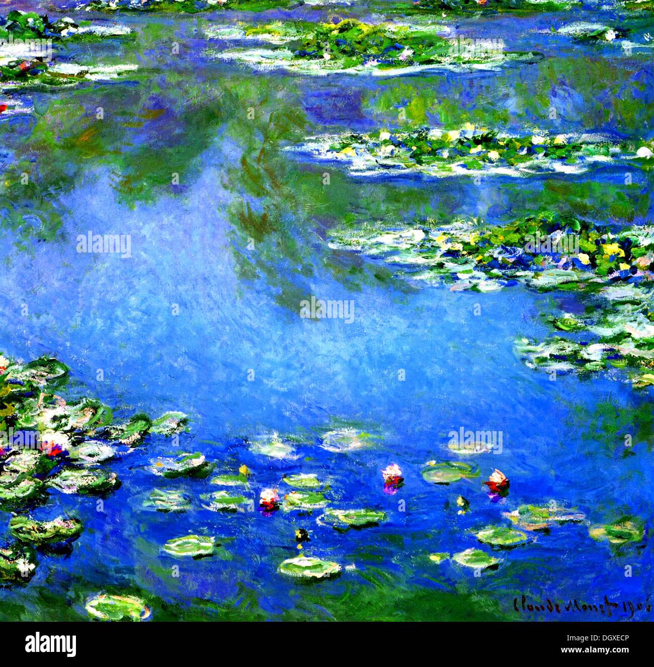 Claude Monet Seerosen