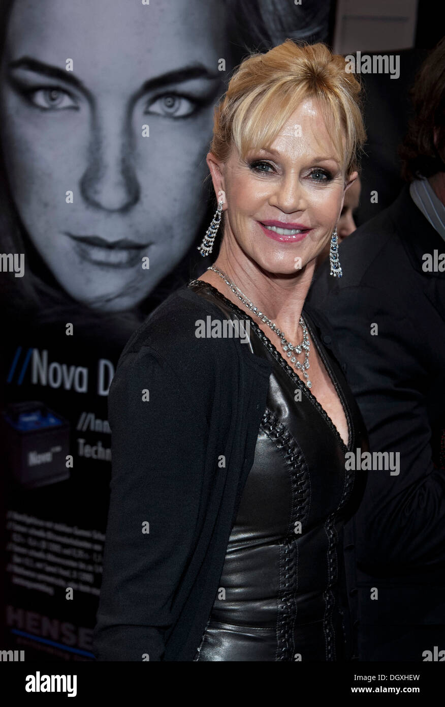 Schauspielerin Melanie Griffith beim Filmfest in München, Bayern Stockbild