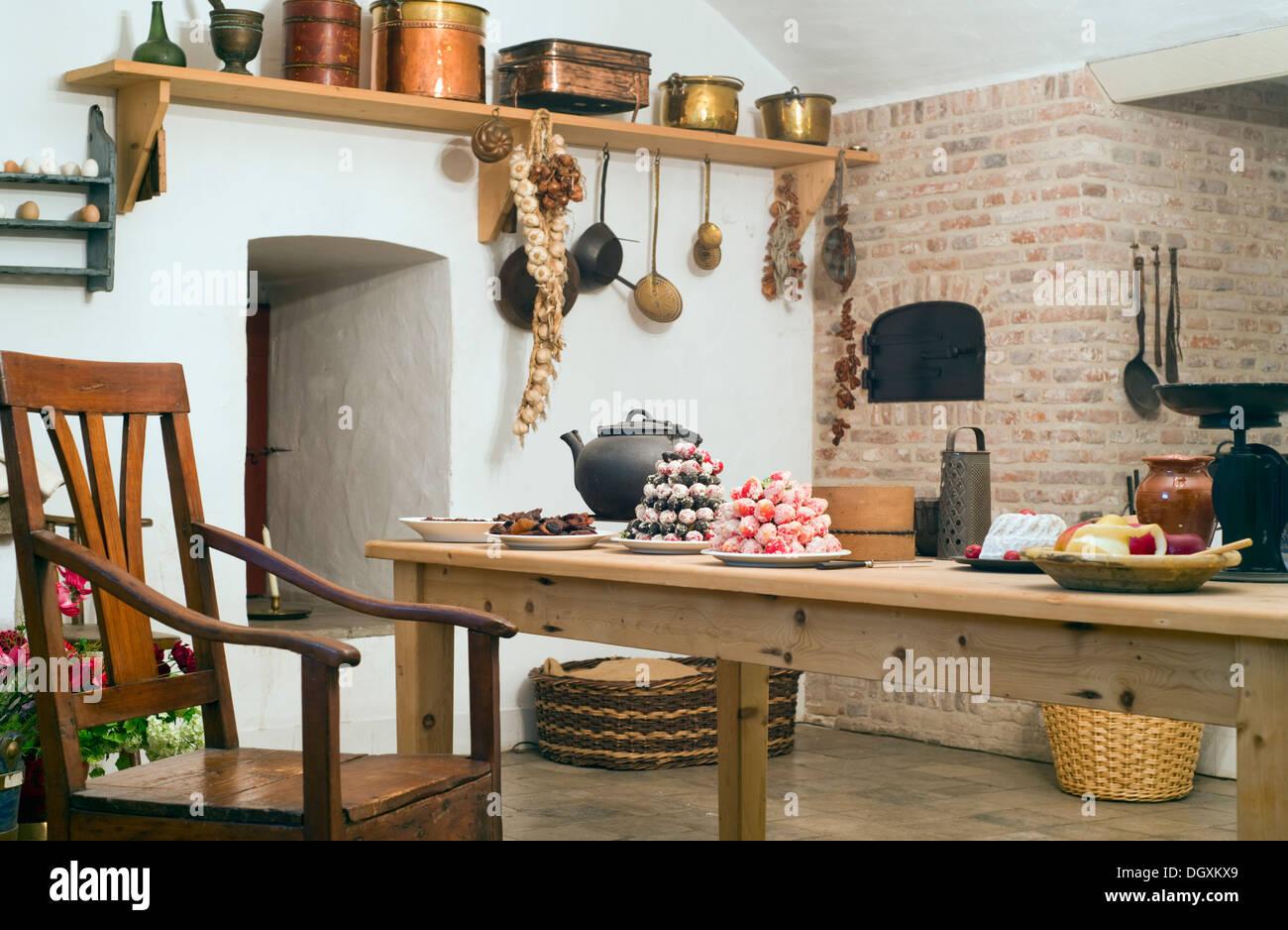 Hervorragend Eine altmodische Küche Interieur Stockfoto, Bild: 62051985 - Alamy CX04
