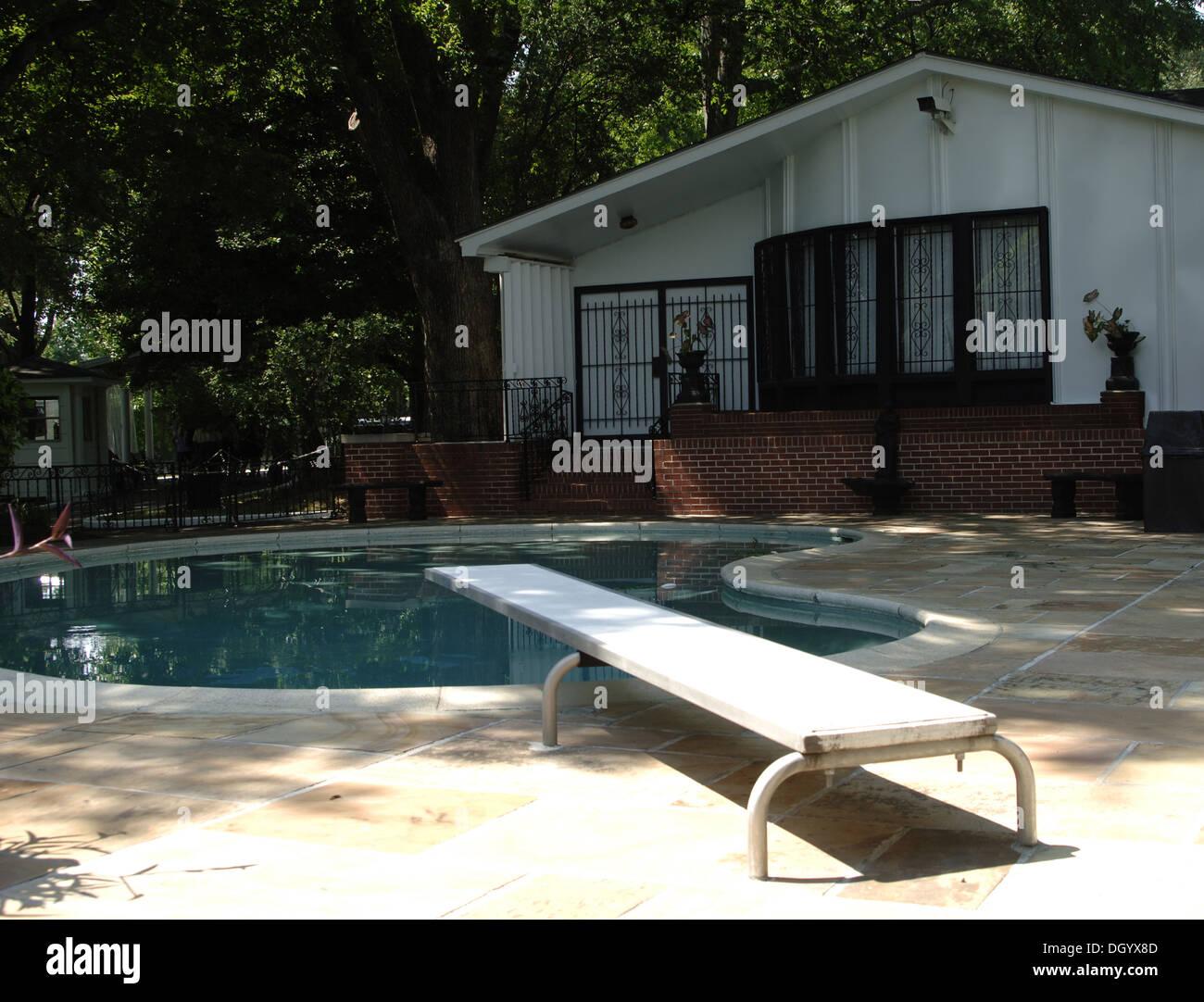 Tennessee. Memphis. Graceland Mansion von Elvis Presley ...