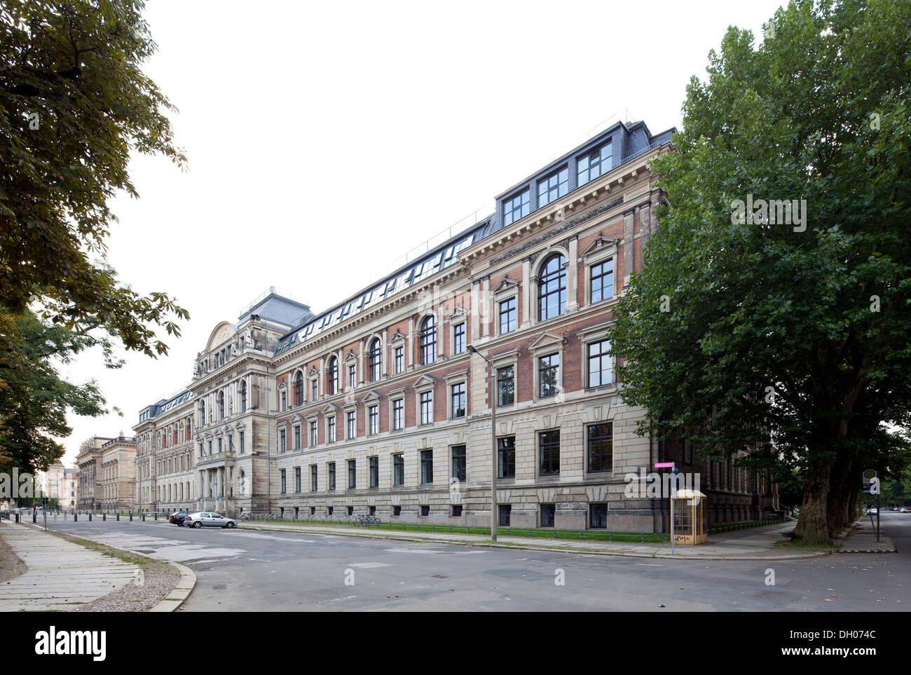 Akademie der bildenden Künste, Leipzig, Sachsen, PublicGround Stockbild