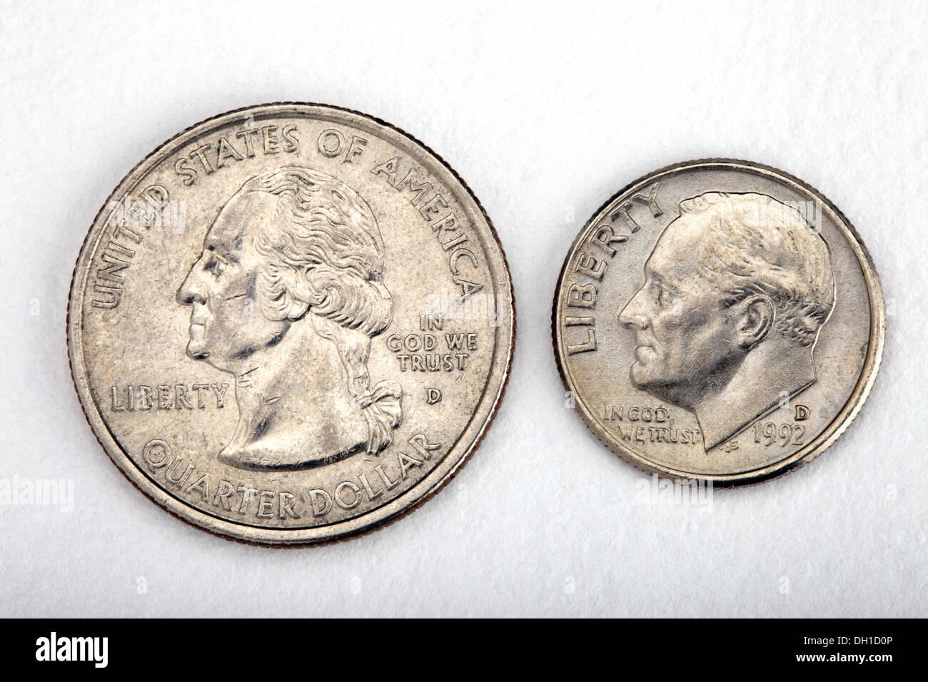 Franklin D Roosevelt Zehn Prozent Kupfer Nickel Münze Dime Und