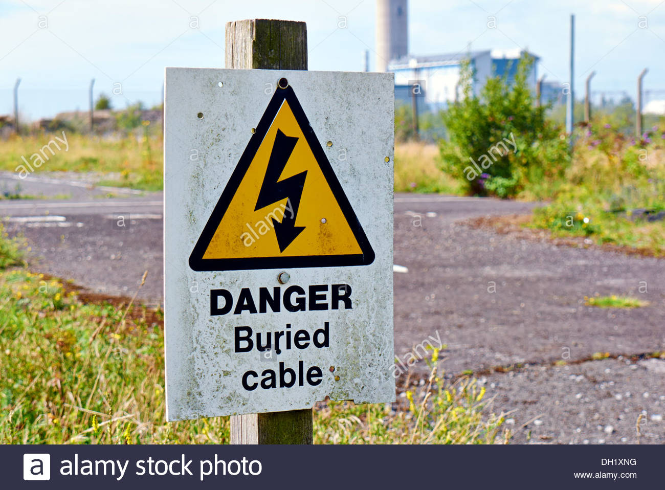 Buried Cable Stockfotos & Buried Cable Bilder - Alamy