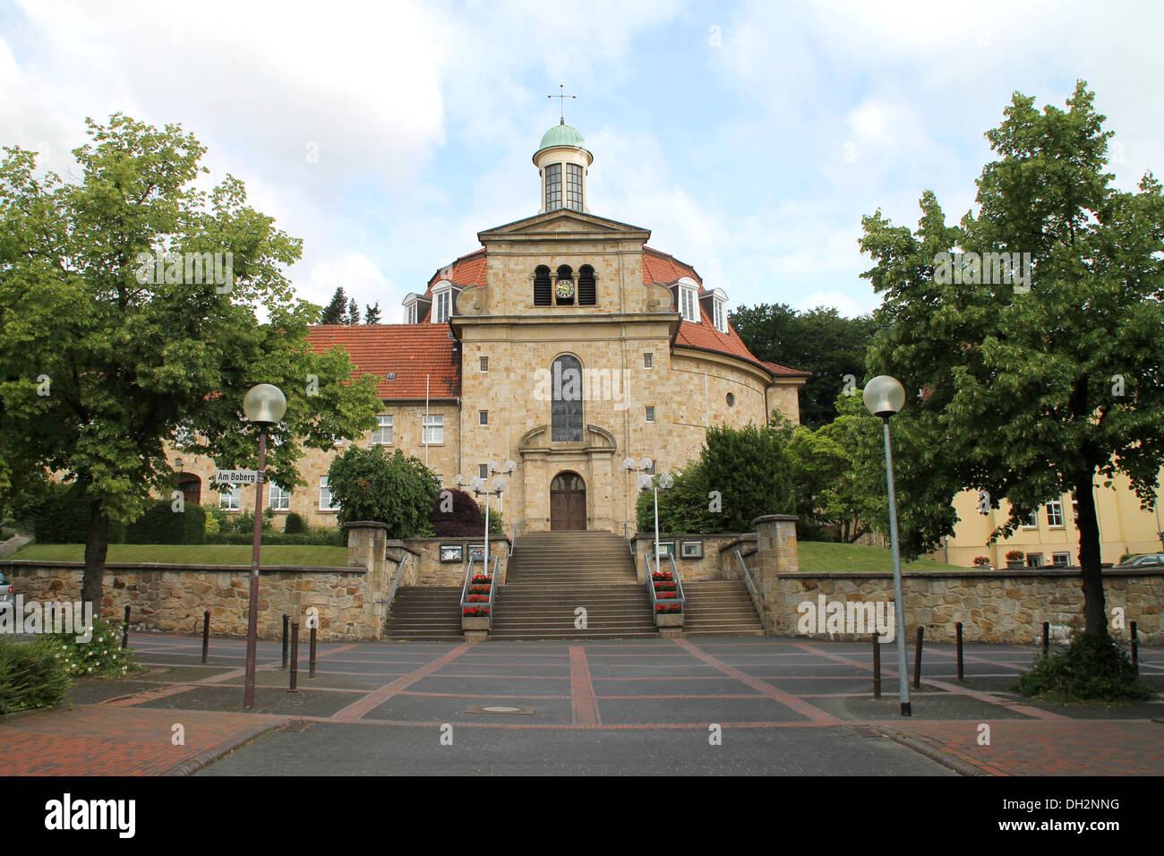 Kloster Ohrbeck Stockbild