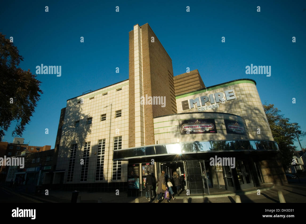 Reiches Kino Kinos Art-Deco-Kino in Sutton Coldfield uk Stockbild