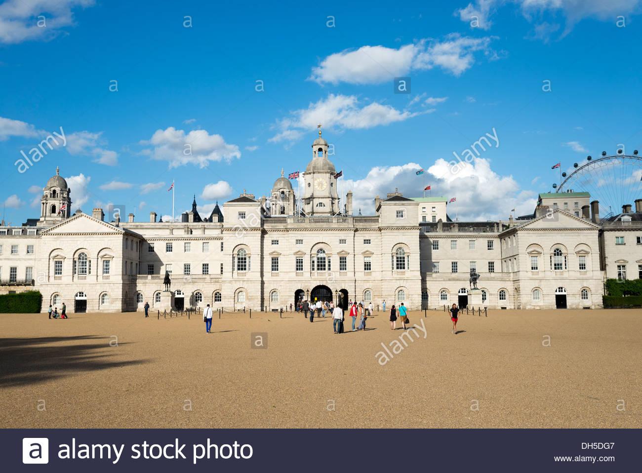 Horse Guards Parade, London, England, UK Stockbild