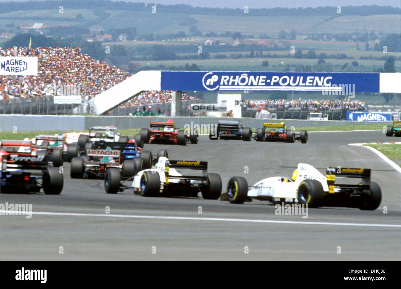 Formel 1 Großer Preis Von Frankreich In Magny Cours Frankreich 1992
