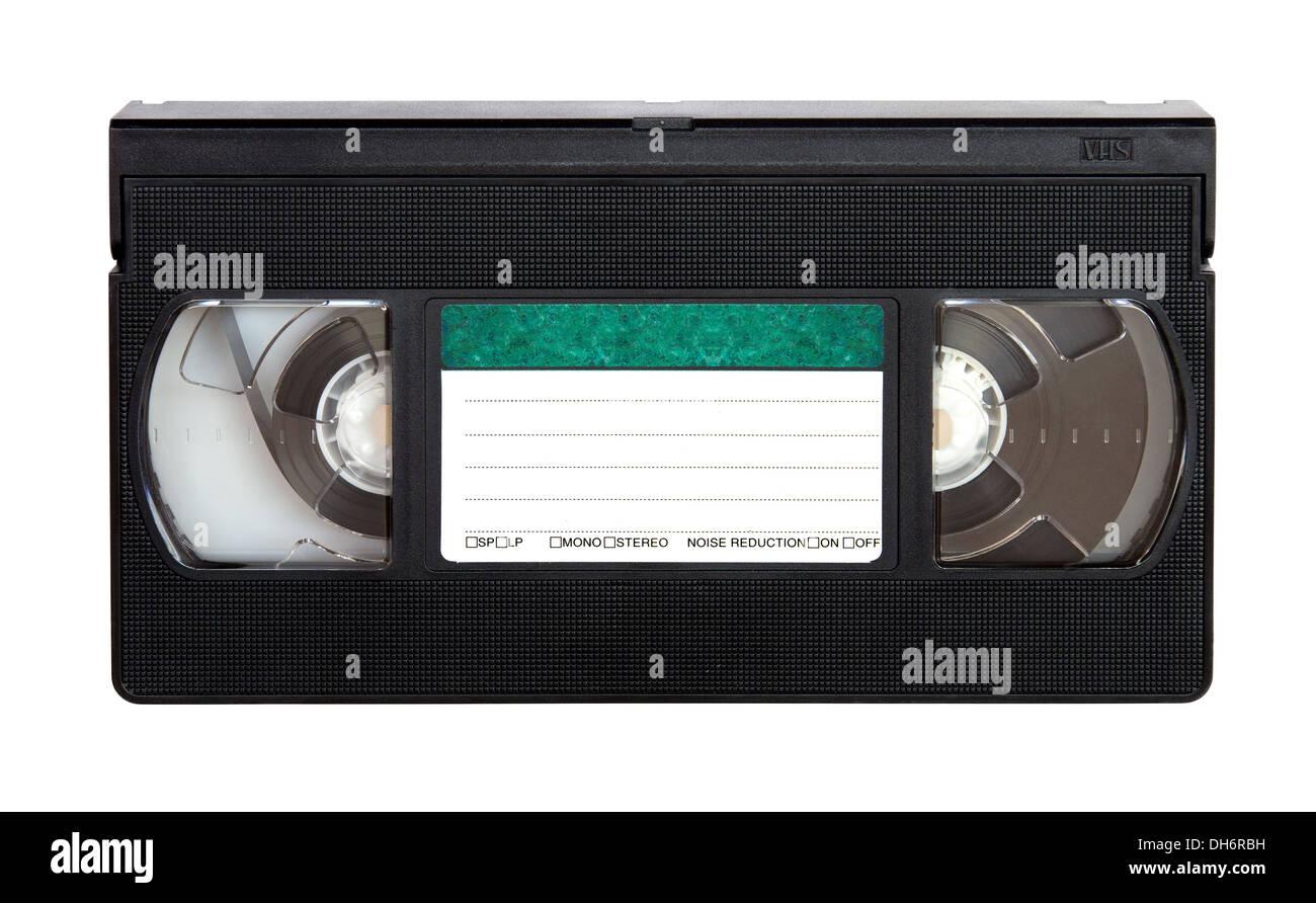 VHS video Kassette Stockbild