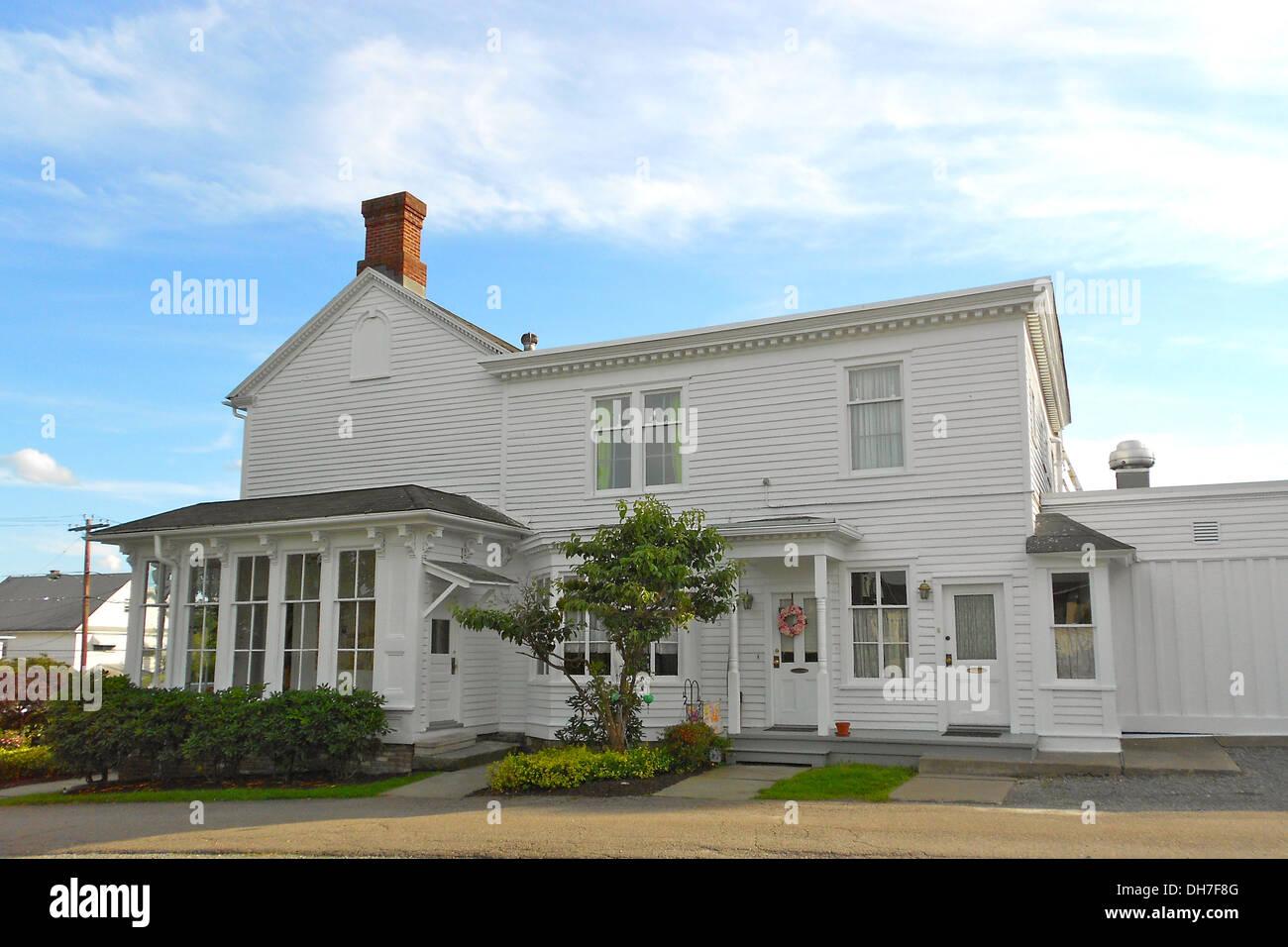 Tripp Familie Homestead genannt wird auf dem NRHP 19. Juni 1972, bei 1101 North Main Avenue, Scranton, Lackawanna County, Pennsylvani Stockbild