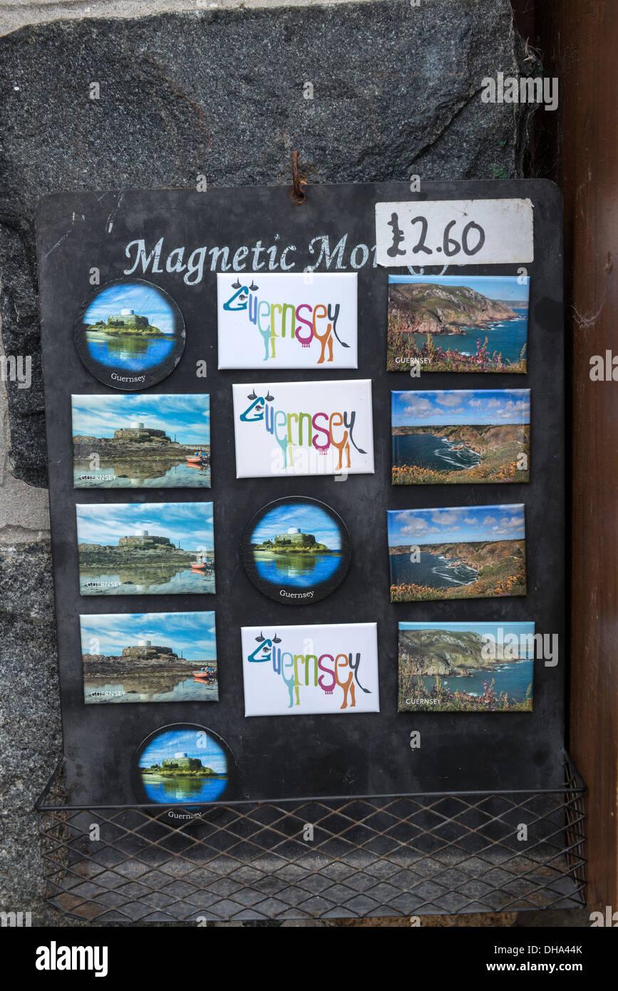 Tourist Souvenir Kühlschrank-Magnete für Verkauf, Guernsey ...
