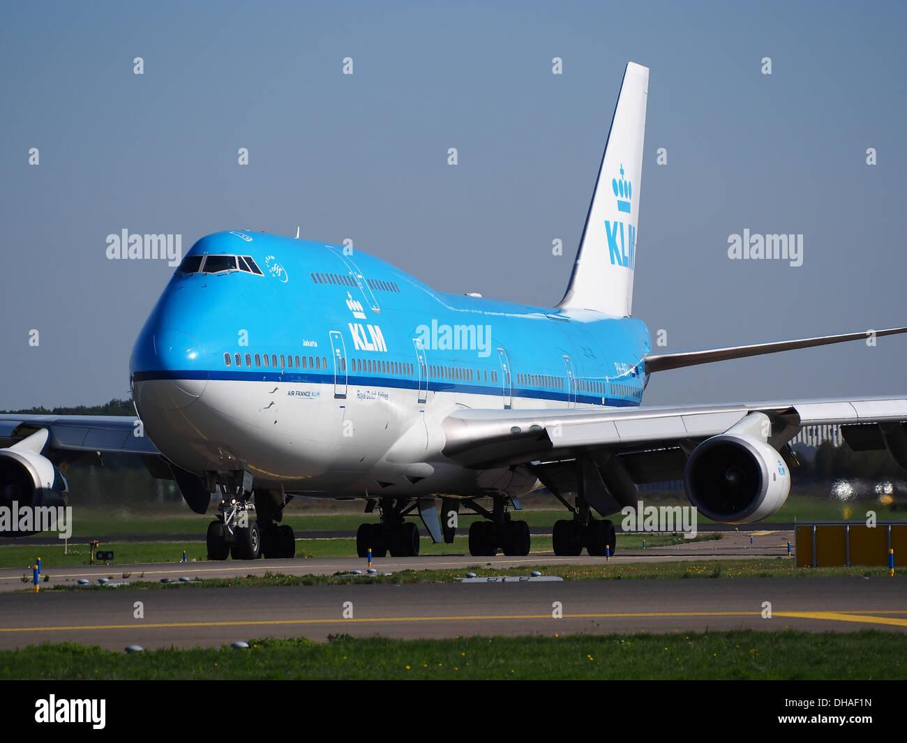 PH-BFI KLM Royal Dutch Airlines Boeing 747-406(M) - Cn 25086 pic1 Stockbild