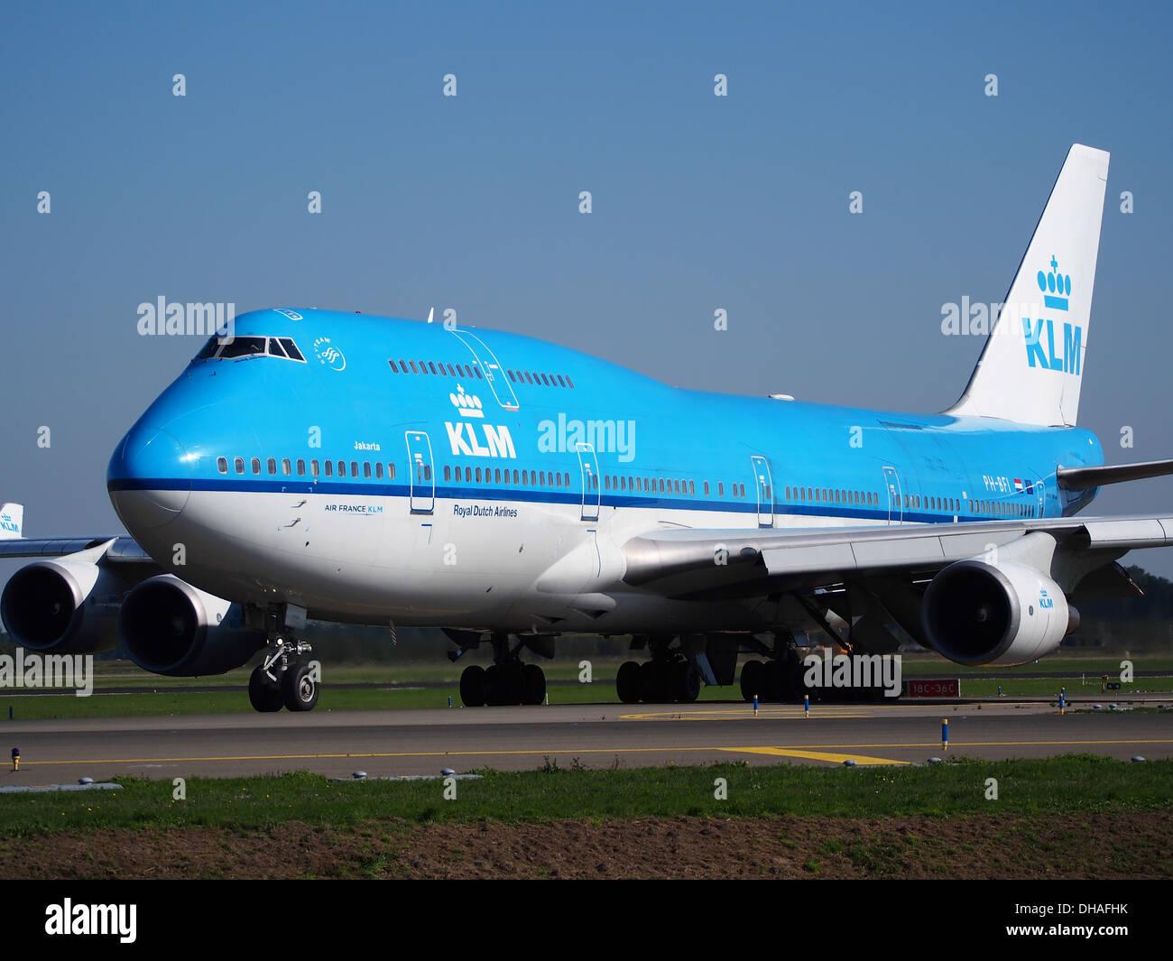 PH-BFI KLM Royal Dutch Airlines Boeing 747-406(M) - Cn 25086 pic2 Stockbild