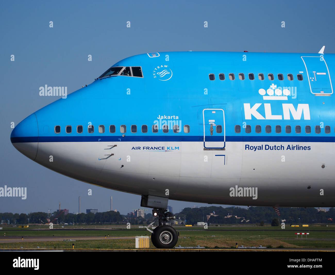 PH-BFI KLM Royal Dutch Airlines Boeing 747-406(M) - Cn 25086 pic3 Stockbild