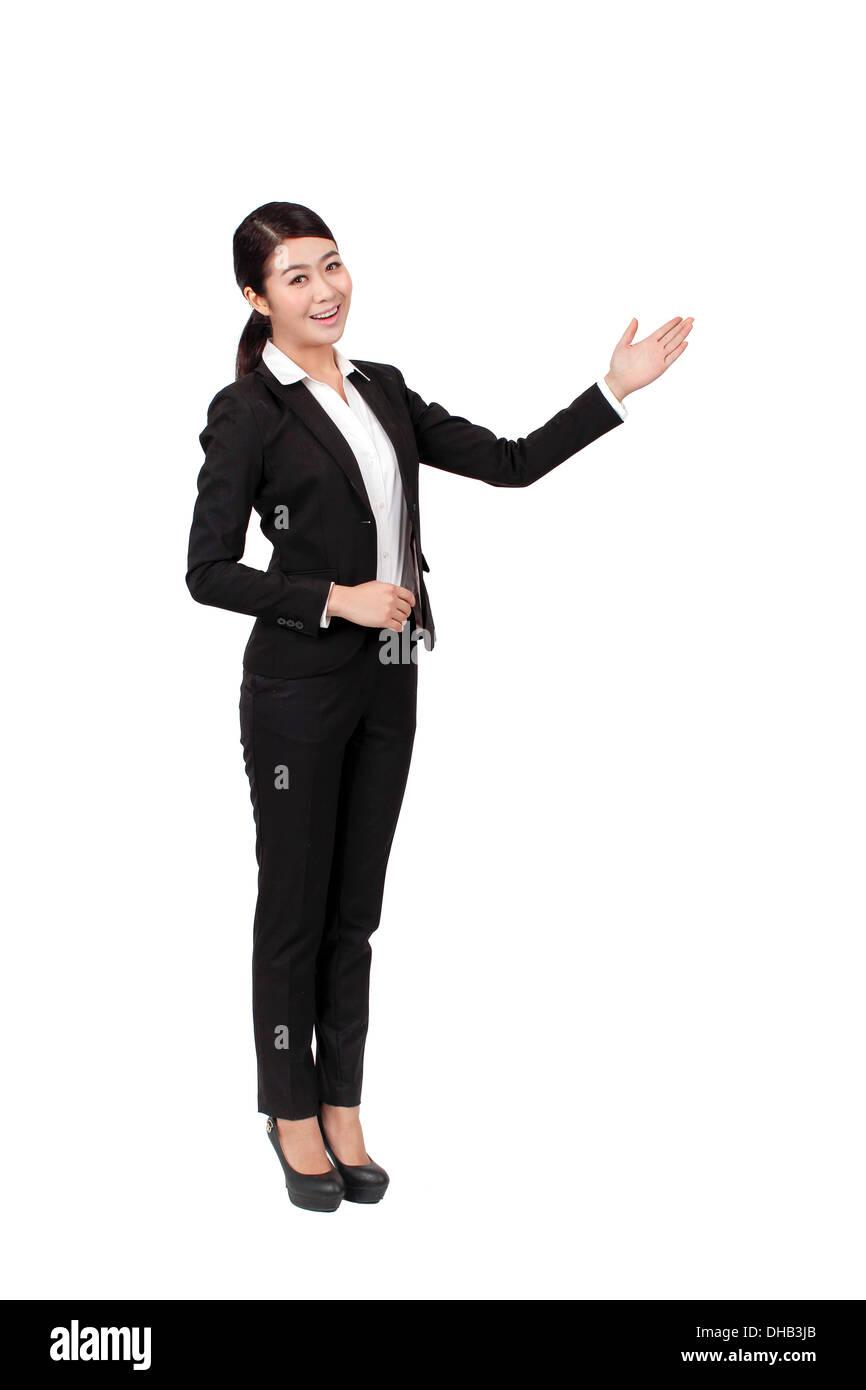 Porträt der Geschäftsfrau Stockbild