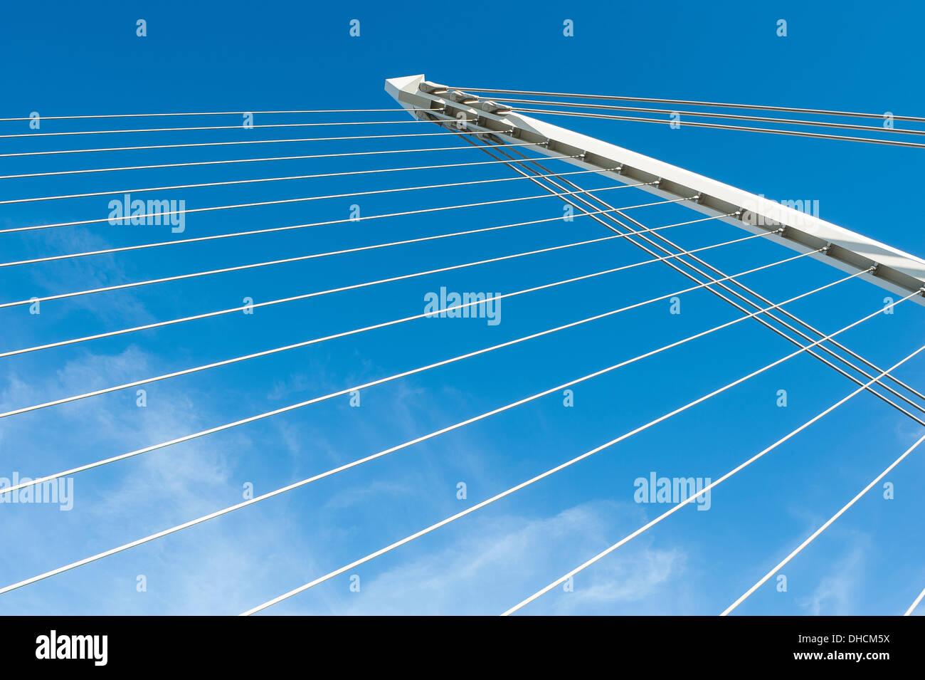 Bridge Blick Stockbild
