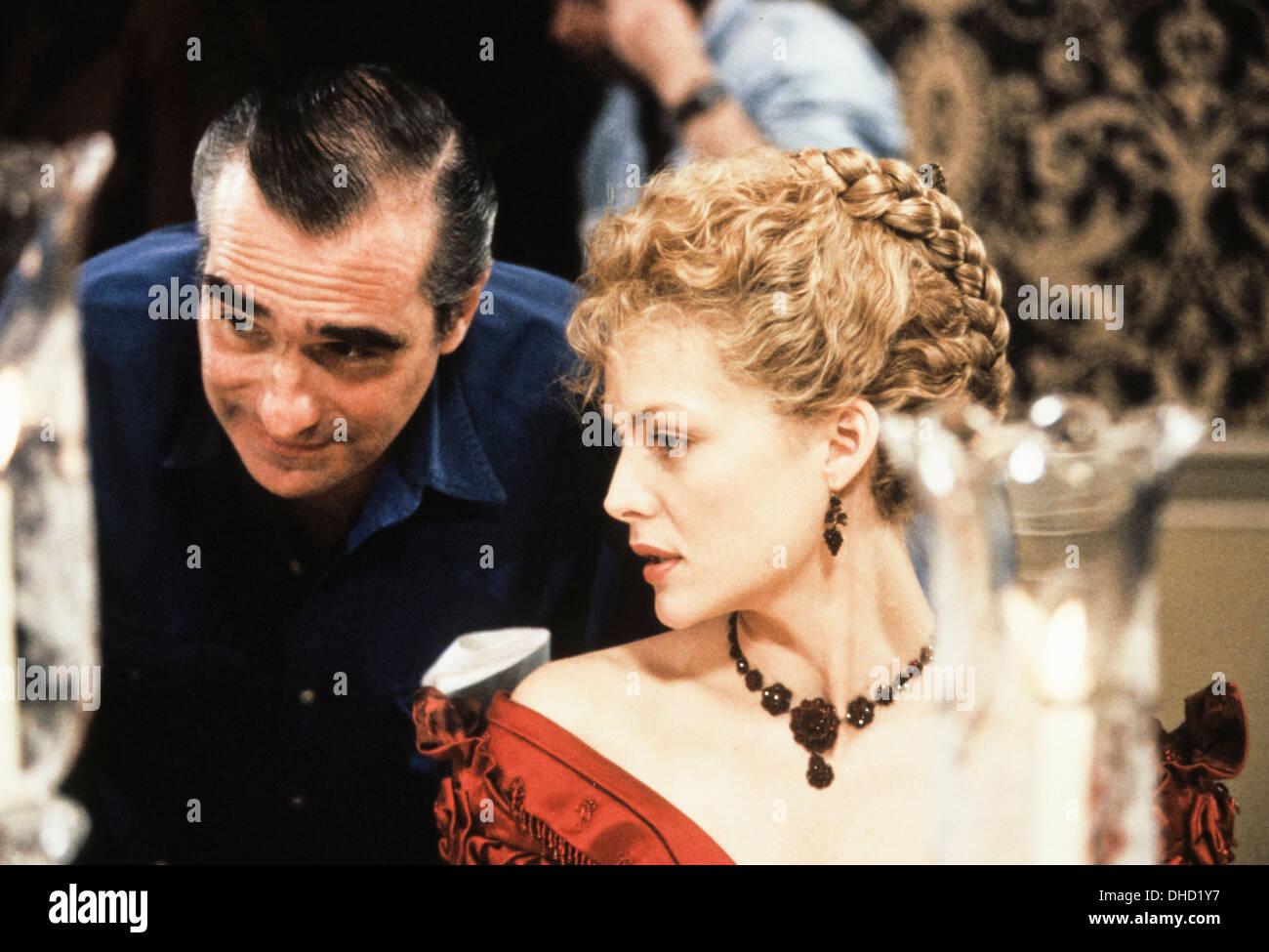 Martin Scorsese, Michelle pfeiffer Stockbild