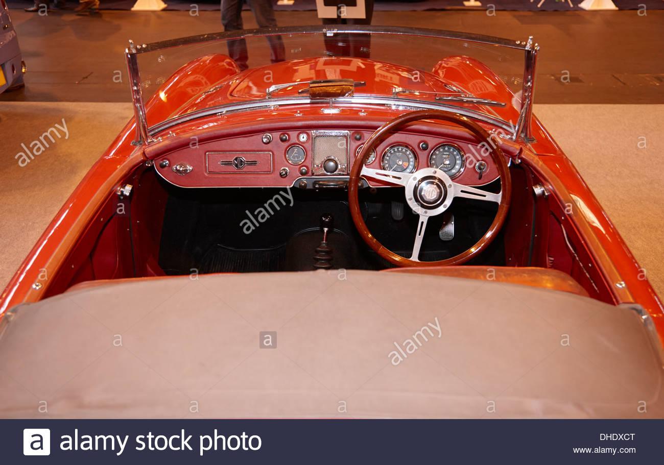 Die letzte Produktion MGA Twin Cam 1960. Eine anschließende wurde auf Bestellung gebaut. Stockbild