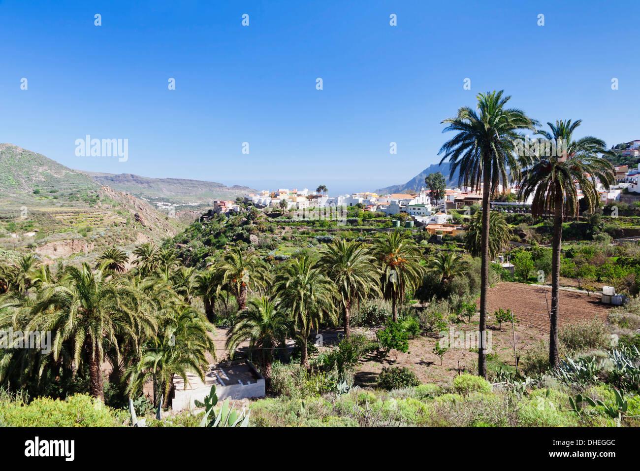 San Bartolome de Tirajana, Gran Canaria, Kanarische Inseln, Spanien, Europa Stockbild
