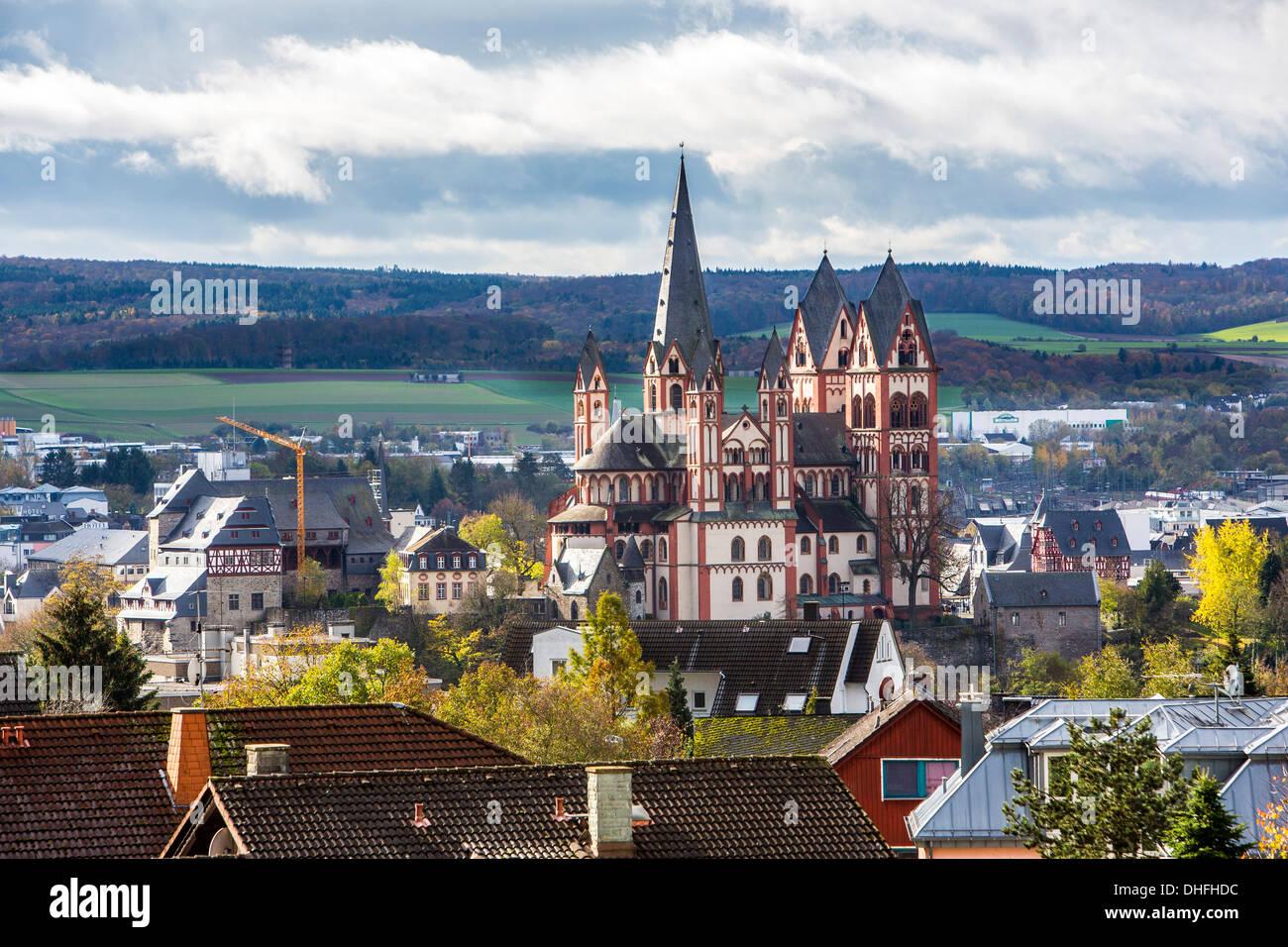 stadt limburg am fluss lahn kathedrale bischofsstadt hessen deutschland stockfoto bild. Black Bedroom Furniture Sets. Home Design Ideas