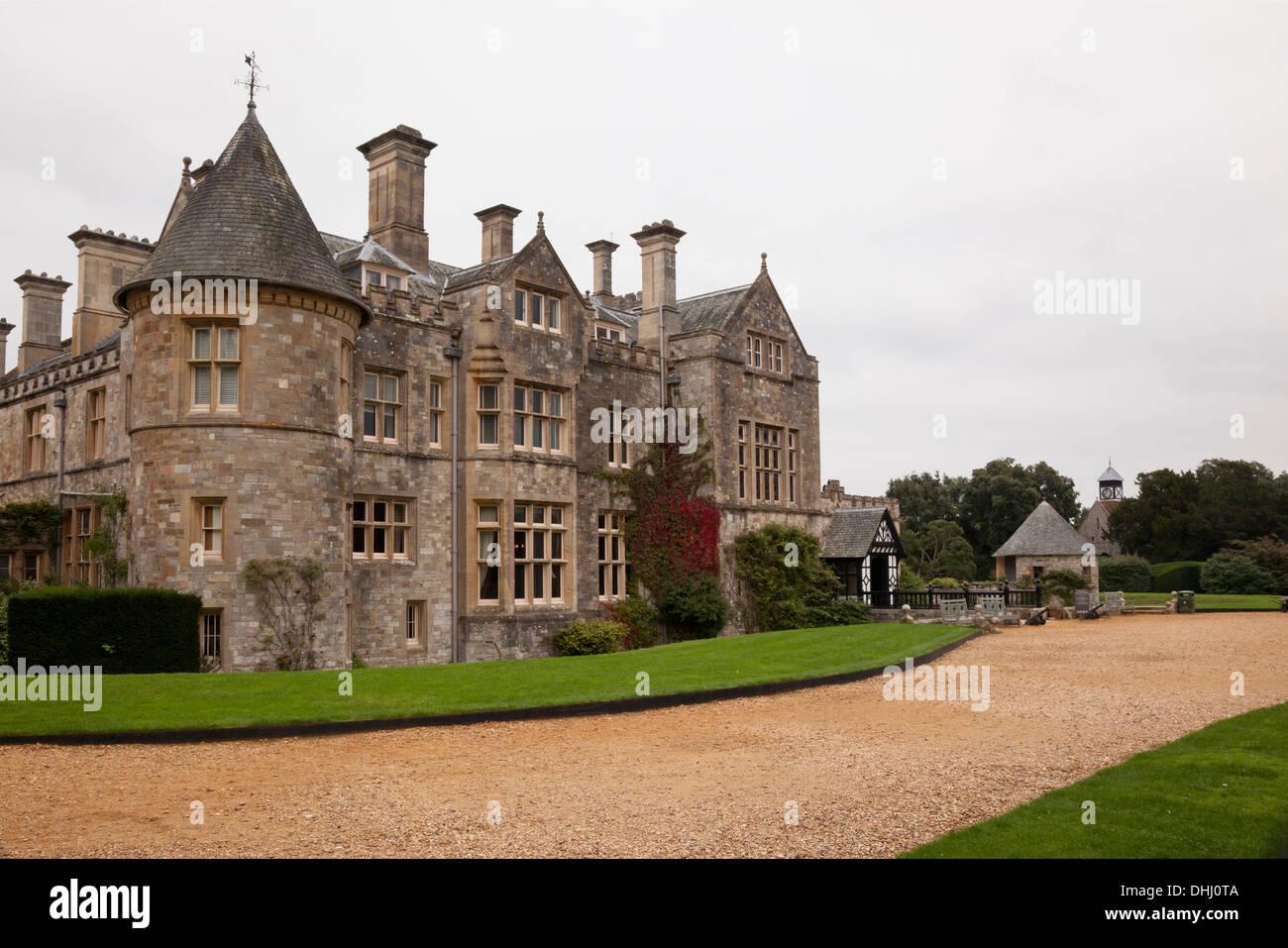 Beaulieu Palace House, Hampshire, UK Stockbild