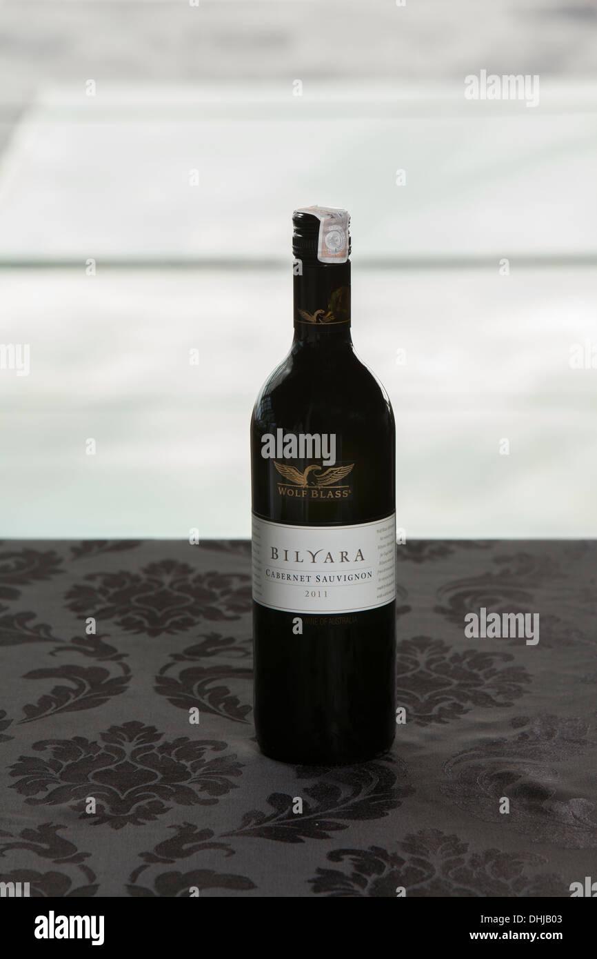Wolf Blass Bilyarra Cabernet Sauvignon weißen Flasche Wein Tabelle ...