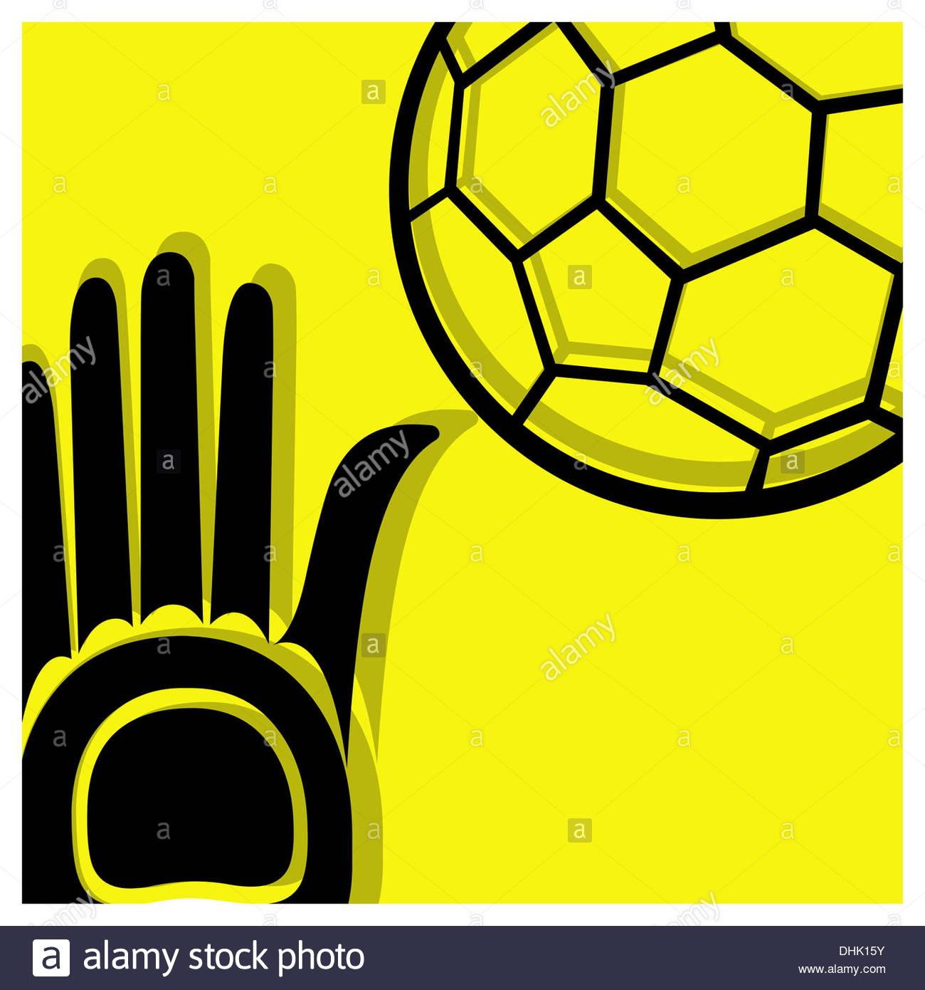 Handball-Piktogramm Stockbild
